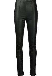 Jason Wu Collection Calça Skinny De Couro - Preto
