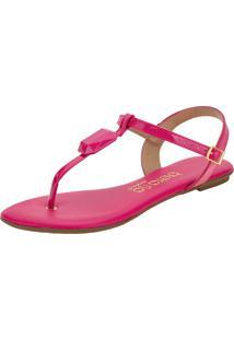Sandália Feminina Rasteira Beira Rio - 8422101 Pink 34