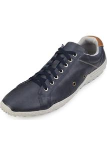 Sapatênis Alex Shoes By Franca Way 3001 Marinho-Castor