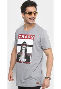 Camiseta Colcci Chaos Madness Masculina - Masculino