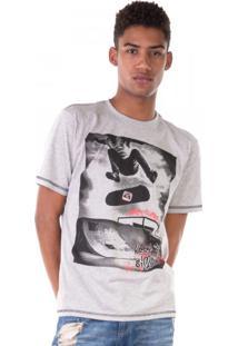 Camiseta Half Skate Mescla