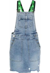 Sjyp Vestido Jeans - Azul