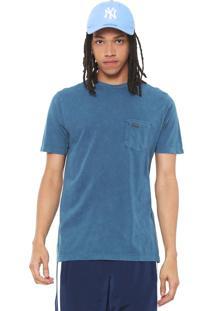 Camiseta Volcom Indigo Pocket Azul