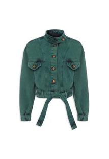 Jaqueta Feminina Bonnet - Verde