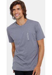 Camiseta Rusty Silk Sb Twin Fin Masculina - Masculino