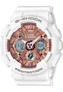 Relógio Casio G-Shock Feminino - Feminino-Branco