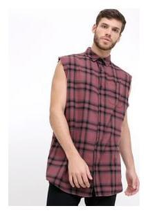 Camisa Xadrez Em Flanela
