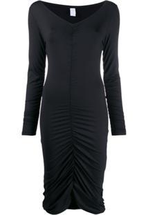 Fantabody Ruched Style Dress - Preto