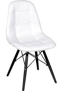 Cadeira Eames Botonãª- Branca & Preta- 83X44X39Cmor Design