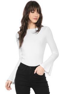 Blusa Iódice Cecília Branca