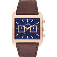 7099b0ed0b2 Relógio Armani Exchange Masculino - Ax2225 0An Ax2225 0An - Masculino-Marrom