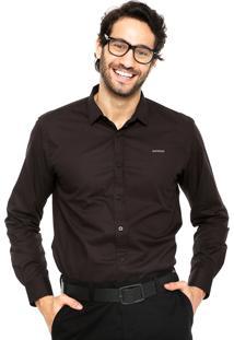 Camisa Sommer Slim Preta
