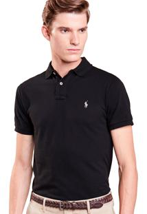 Polo Ralph Lauren Custom Fit Polo Black