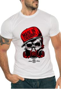 Camiseta Manga Curta Jay Jay Chernobyl Branca