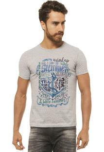 Camiseta Joss - I Love Shutter - Masculina - Masculino-Mescla