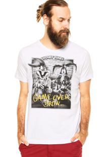 Camiseta Fashion Comics Looney Tunes Comfort Branca