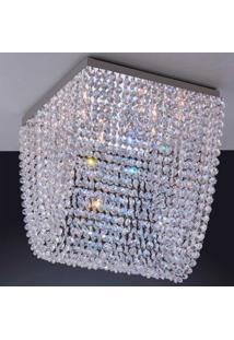 Luminária De Sobrepor 4,5W G9 Espelhado Pen6Lzsqg9 Bronzearte