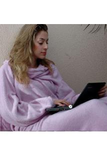 Cobertor Com Mangas Lilas - Zona Criativa
