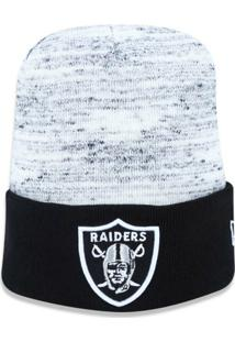 Gorro Touca Oakland Raiders Knit Chiller Tone - New Era - Unissex b16b582739f