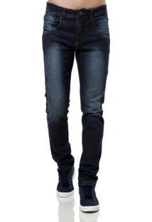 Calça Jeans Masculina Eletron Azul