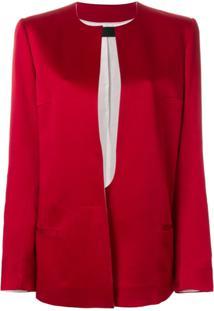 Haider Ackermann Blazer Estruturado - Vermelho