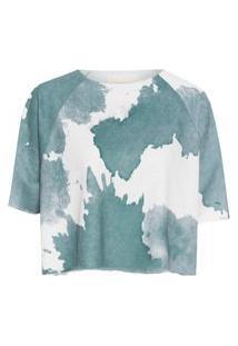 Camiseta Feminina Hogans - Verde