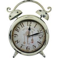 abc78c1b6f2 Relógio Kasa Ideia De Mesa Branco