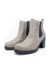 Bota Barth Shoes Bury Resina - Cinza
