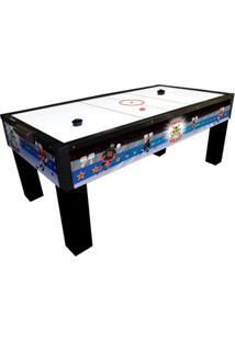Mesa Para Aero Hockey - Unissex-Azul