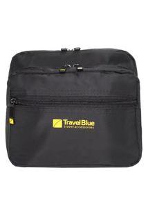 Pochete Viagem Nylon Travel Blue