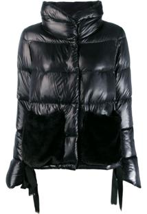 Herno Reversible Padded Jacket - Preto