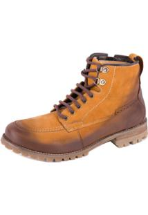 Bota Ferracini Casual Pionner Natural - Masculino-Marrom