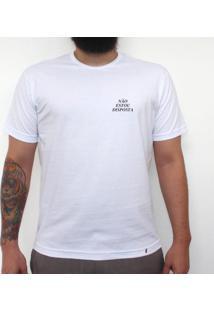 Mini Tipo Não Estou Disposta - Camiseta Clássica Masculina