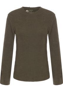 Blusa Feminina Eco Comfy - Verde