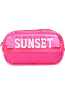 Necessaire Drezzup Sunset - Feminino-Pink