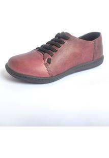 Sapatinho S2 Shoes Mariso Couro Açaí