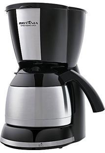 Cafeteira Elétrica Britânia Cp38 Thermo 38 Xícaras - Inox Preto - 110V
