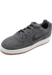 Tênis Couro Nike Sportswear Wmns Ebernon Cinza