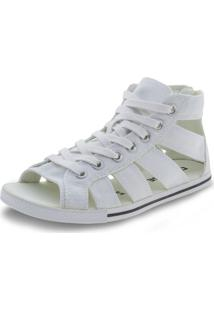 Tênis Feminino Ct As Gladiator Mid Converse All Star - 5370 Branco 33