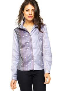Camisa Forum Fashion Roxo