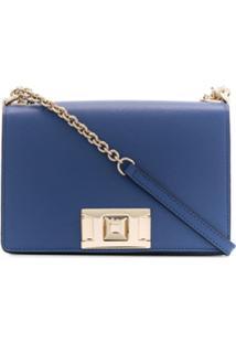 Furla Bolsa Transversal Mimi - Azul