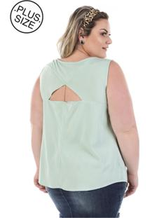 Regata Plus Size - Confidencial Extra De Sarja Stacy Summer