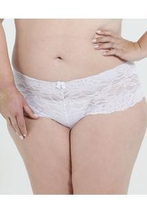 Calcinha Feminina Caleçon Renda Plus Size Marisa