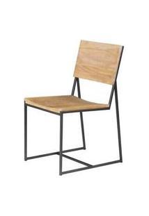 Cadeira York Metal Grafite Driftwood 83Cm - 38020 Preto
