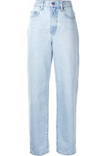 Nobody Denim Calça Jeans Boyfriend - Azul