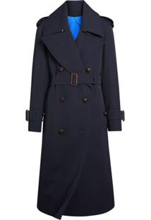 Burberry Trench Coat Oversized - Azul