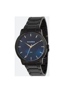 Kit Relógio Feminino Mondaine 53606Lpmvpe5Kc Analógico 5Atm + Conjunto Semijóia | Mondaine | Preto | U