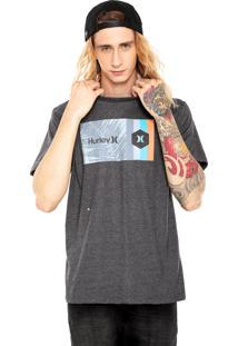 Camiseta Hurley Double Standard Cinza