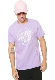 Camiseta Santa Cruz Opus Dot Lilás