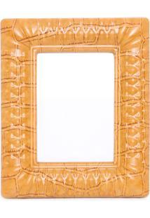 Porta Retrato Poliuretano - Laranja